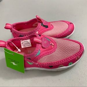 Girls Toddler Aqua Water Shoes Size 5/6 NEW